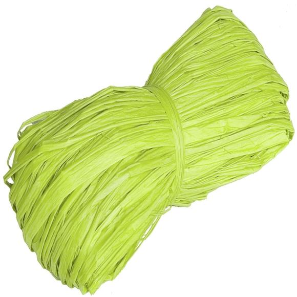 Achat en ligne Pelote en 100% raphia vert pomme 25gr