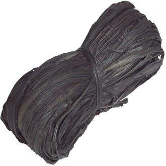Pelote en 100% raphia noir 25gr