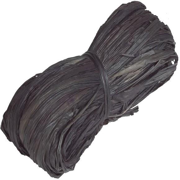 Achat en ligne Pelote en 100% raphia noir 25gr