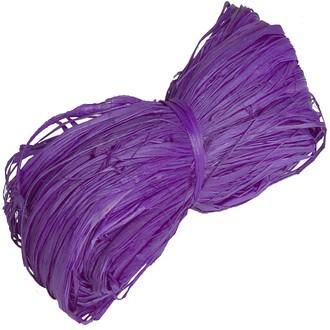 Pelote en 100% raphia violet 25gr