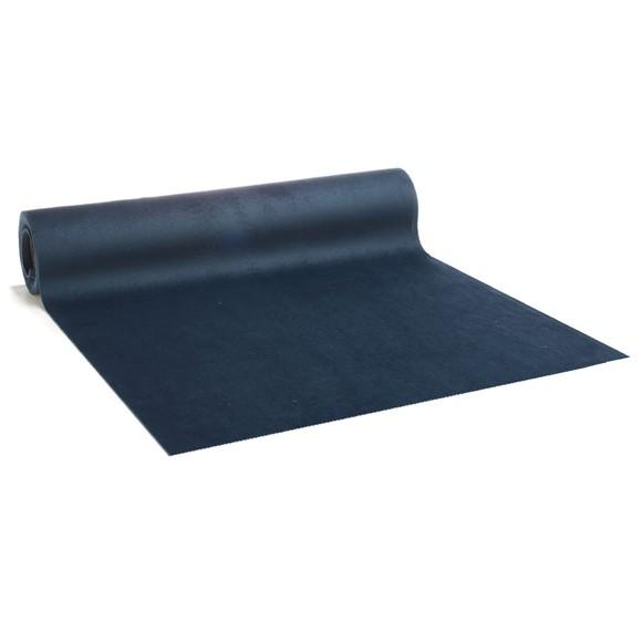Achat en ligne Chemin de table en velours bleu foncé, 2.5mx28cm