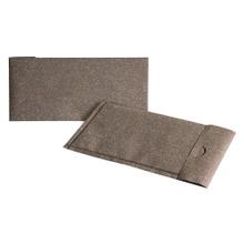 Achat en ligne Enveloppe cadeau papier paillette or 11,7x23,2cm