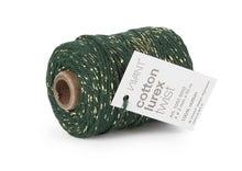 Achat en ligne Fil de coton lurex twist vert or 50mx2mm