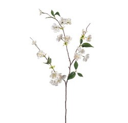 compra en línea Rama de durazno artificial con flores (80 cm)