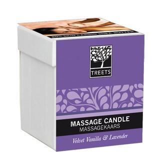 NATURE'S CHOICE - Bougie de massage vanille et lavande - 140gr