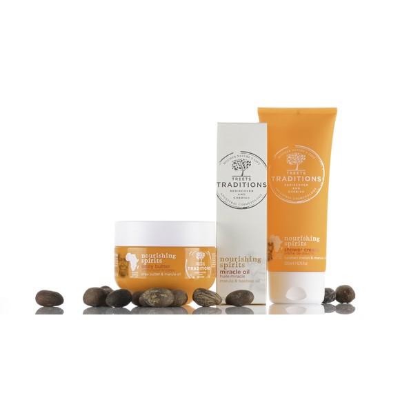 Achat en ligne Crème pour le corps beurre de karité et marula 250ml