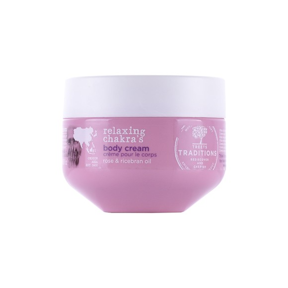 Achat en ligne Crème pour le corps à la rose et son de riz 250ml