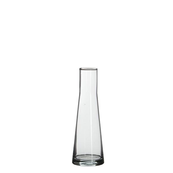 Vase en verre transparent Ixia 21x7cm