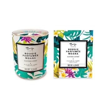 BAIJA - Bougie parfumée fleur de tiaré 180g
