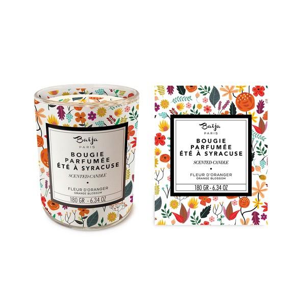 Bougie parfumée fleur d'oranger 180g