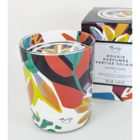 Bougie parfumée bergamote tubereuse 180g