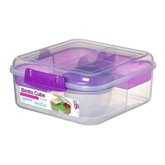 SISTEMA - Boîte à repas Bento Cube To Go 1,25L 16,8x18,6x7,7cm