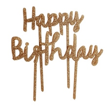 Achat en ligne Décor à piquer  Happy Birthday