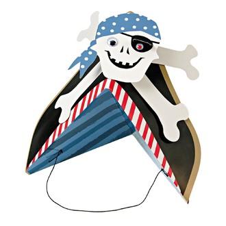 MERI MERI - Set de 8 chapeaux de pirate