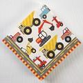 Paquet 20 serviettes papier camion de chantier 12,7x12,7cm