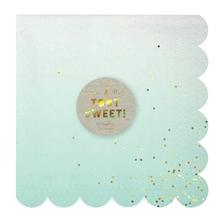 Achat en ligne Paquet de 16 serviettes en papier ombre 16,5x16,5cm