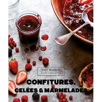 Livre de cuisine Confitures gelées et marmelades
