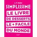 Livre de cuisine Simplissime des desserts