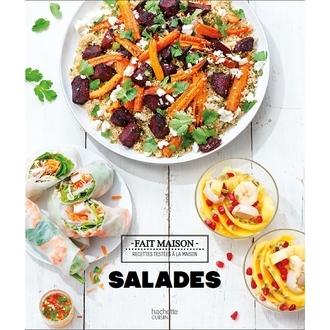 Livre de cuisine Fait maison salades
