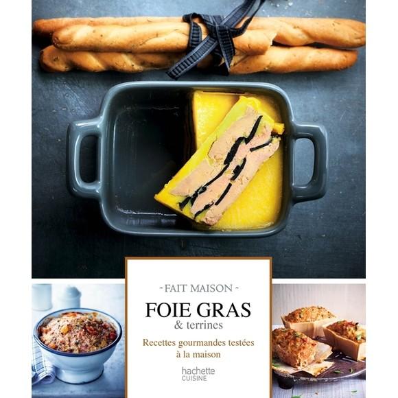 Achat en ligne Livre Fait maison foie gras & terrines