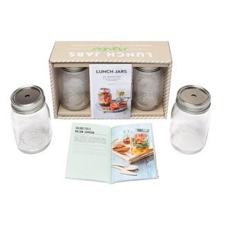 HACHETTE - Coffret lunch jars