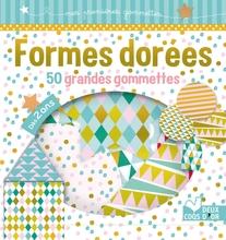 Achat en ligne Formes dorées 50 grandes gommettes