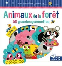 Achat en ligne Animaux de la forêt 50 grandes gommettes