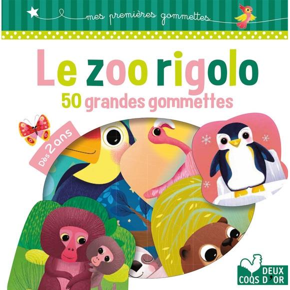 Achat en ligne Le zoo rigolo 50 grandes gommettes