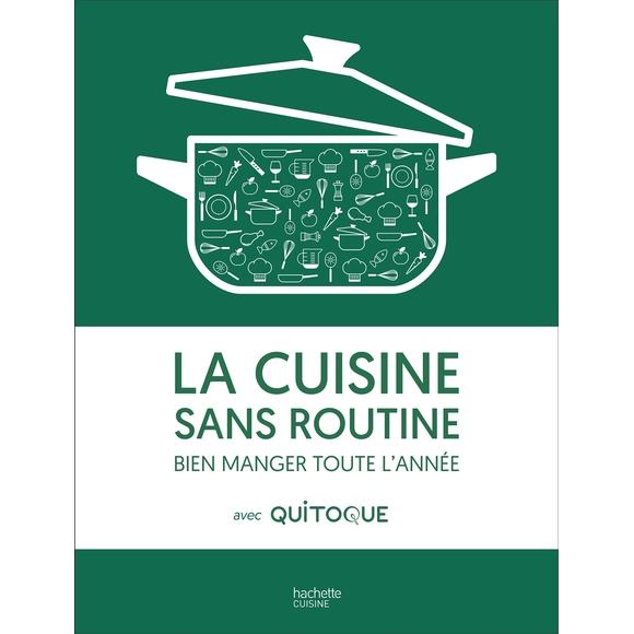 Achat en ligne Livre La cuisine sans routine