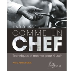 Achat en ligne Livre de cuisine Comme un chef avec Pierre Hermé