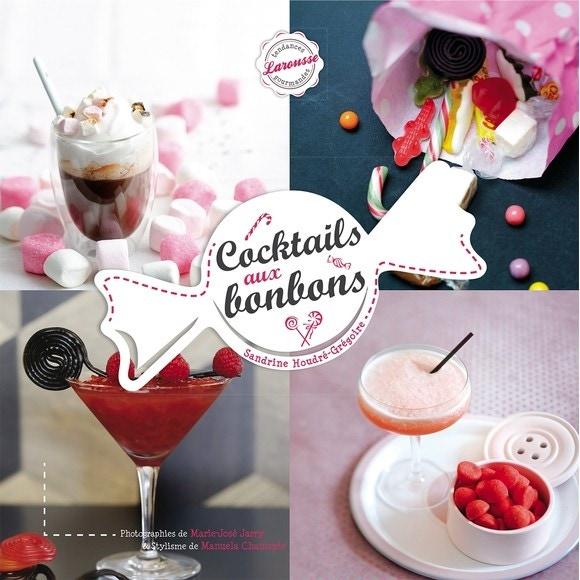 Livre Cocktails aux bonbons