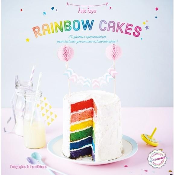 Achat en ligne Livre de cuisine Rainbow cakes