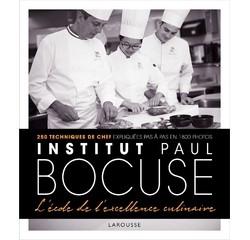 Achat en ligne Livre de cuisine Institut Bocuse à l'école des chefs