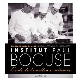 LAROUSSE - Livre de cuisine Institut Bocuse à l'école des chefs