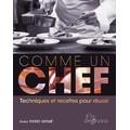 Livre de cuisine Comme un chef