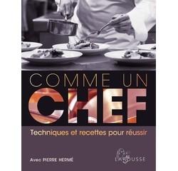 Achat en ligne Livre de cuisine Comme un chef
