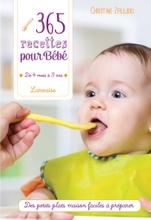Achat en ligne Livre de cuisine 365 recettes pour bébé