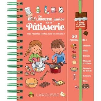 Hachette - livre larousse junior de la pâtisserie