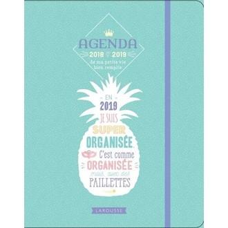 Agenda ananas ma petite vie bien remplie 2018-2019