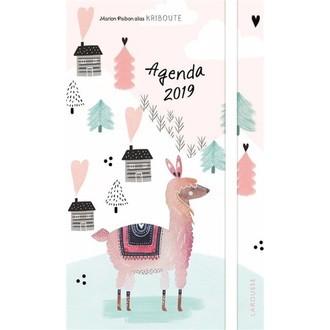 L'agenda 2019 illustré lama