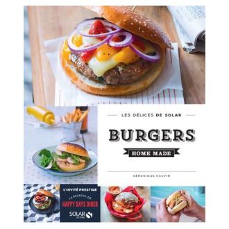 Livre de cuisine Burgers home made