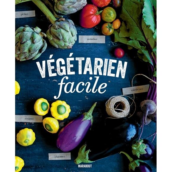 Achat en ligne Livre de cuisine Végétarien facile