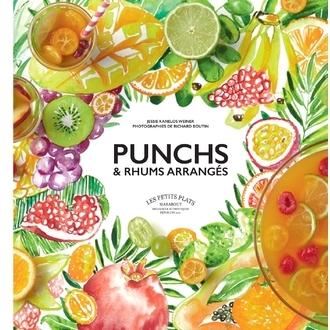 MARABOUT - Livre de cocktails 30 recettes de Punchs & Rhums arrangés