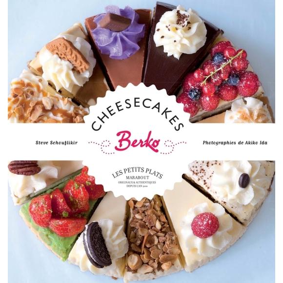 Livre de cuisine Cheesecakes berko