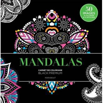 MARABOUT -Mandalas - Carnet de coloriage