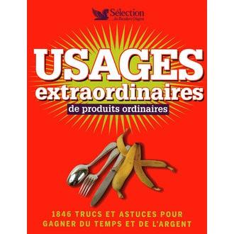 Livre Usages extraordinaires de produits ordinaires