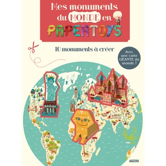 Kit créatif Mes monuments du monde en pape