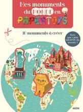 Achat en ligne Kit créatif Mes monuments du monde en pape