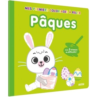 AUZOU - Mes premiers coloriages à relier Pâques