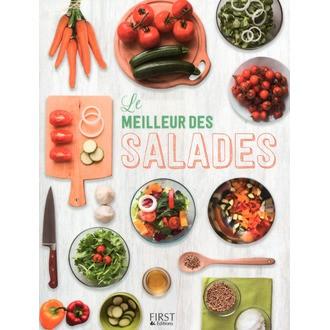 Livre de cuisine Le meilleur des salades